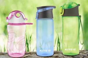 Термосы для школьников и бутылочки для воды KITE