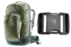 Подарки к новым рюкзакам от Deuter, а также гарантийная замена фастексов