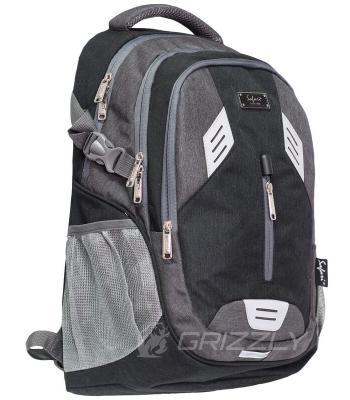 Рюкзак SAFARI 46x31x22см 32л Серый 19-105L-1