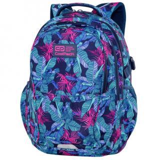 Рюкзак молодёжный Coolpack Factor Turquoise Jungle C02191