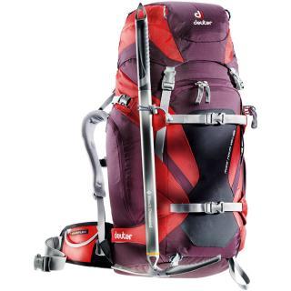 Рюкзак для горнолыжников Deuter Rise Tour 40+ SL aubergine-fire 3301416 5522