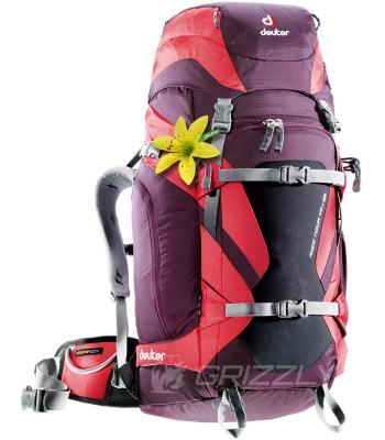Рюкзак Deuter Rise Tour 40+ SL aubergine-fire 3301416 5522