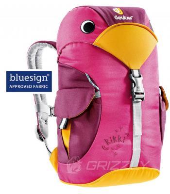 Рюкзак Deuter Kikki magenta-blackberry (36093 5505)