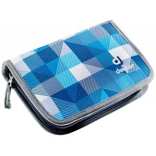 Пенал Deuter Pencil Box blue arrowcheck