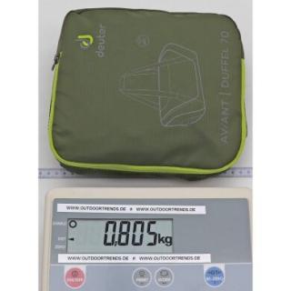 Дорожная сумка Deuter Aviant Duffel 70 maron-aubergine 3520220 5543