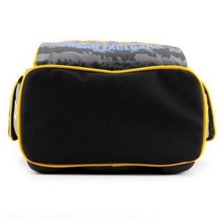 Рюкзак школьный каркасный GoPack 5001S-29 серый с жёлтым GO18-5001S-29