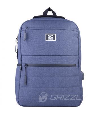 Рюкзак городской GoPack Сity синий GO21-167M-3