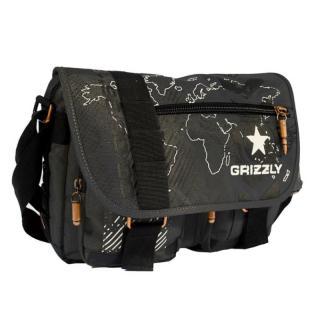 Сумка молодежная Grizzly ММ-1464 Black
