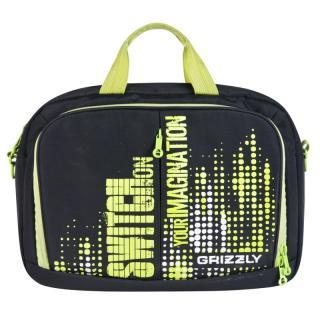 Молодежная сумка Grizzly MM-322-1 green