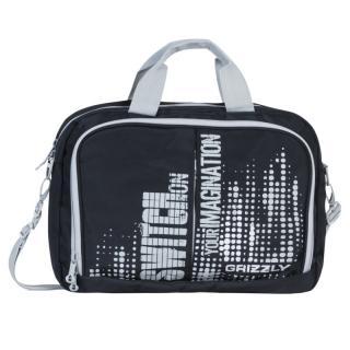 Молодежная сумка Grizzly MM-322-1 black