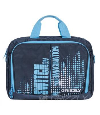 Молодежная сумка GRIZZLY MM-322-1 темно-синий