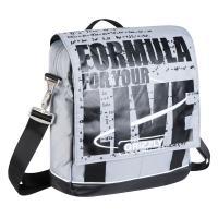 Молодежная сумка Grizzly MM-341-1 white