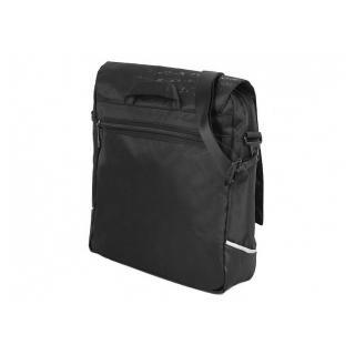 Молодежная сумка Grizzly MM-341-1 черный-серебро