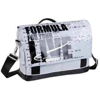 Молодежная сумка Grizzly MM-341-2 white