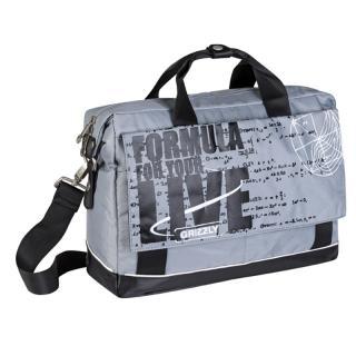 Молодежная сумка Grizzly MM-341-3 white