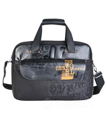 Портфель Grizzly MN-342-3 black