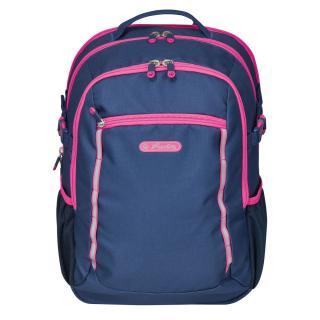 Рюкзак школьный Herlitz ULTIMATE Navy Pink синий 50032778