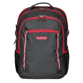 Рюкзак школьный Herlitz ULTIMATE Black Red черный 50032785