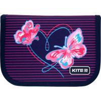 Пенал без наполнения Kite Education Butterflies K21-622-3