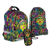 Школьный набор 2021 Kite Education Superman SET_DC21-700M-2