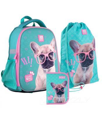 Школьный набор 2021 Kite Education Studio Pets SET_SP21-555S-1