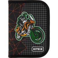 Пенал без наполнения Kite Education Motocross K21-622-2