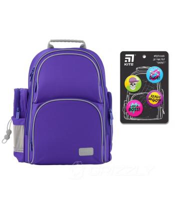 Рюкзак школьный Kite Education K19-702M-3 Smart синий