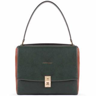 Женская сумка Piquadro DAFNE Green-Tobacco BD5276DF_VECU