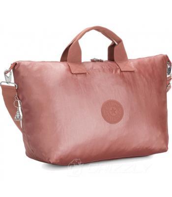 Дорожная сумка Kipling BASIC PLUS KALA M Metallic Rust O KI5301_Q34