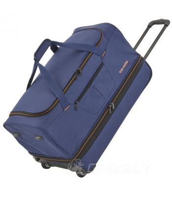 Дорожная сумка на колесах Travelite BASICS/Blue 51/64L TL096275-20