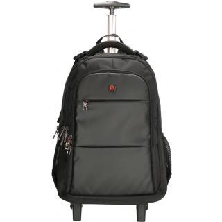 Рюкзак на колесах Enrico Benetti DOWNTOWN/Black 37L Eb62064 001