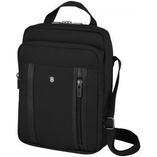 Мужская сумка через плечо Victorinox Travel WERKS PROFESSIONAL Cordura Чёрная Vt611473