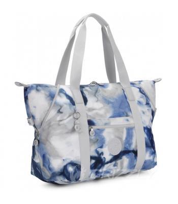 Женская сумка Kipling BASIC PRT ART M Tie Dye Blue KI6004_48Y