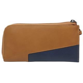 Клатч-портмоне с RFID защитой Piquadro HAKONE Коричнево-синий PP4766S104R_CUBL