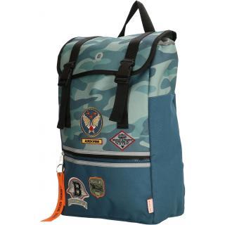 Детский рюкзак Beagles Originals AIRFORCE Blue Camouflage Bo17789 983