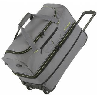 Дорожная сумка на колесах Travelite BASICS/Grey 51/64L TL096275-04