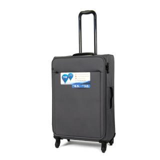 Чемодан IT Luggage ACCENTUATE Steel Gray M 57l IT12-2277-04-M-S885