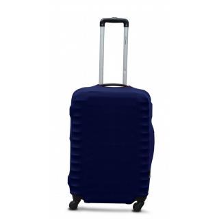 Чехол для чемоданов Coverbag M темно-синий 55-65см CvP0208M