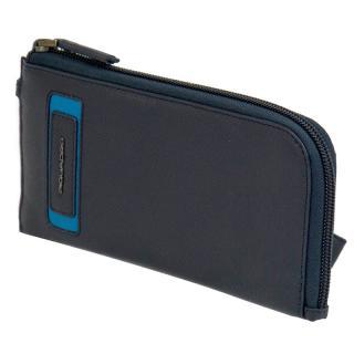 Клатч-портмоне с RFID защитой Piquadro DIONISO Тёмно-синий PP4766W103R_BLU