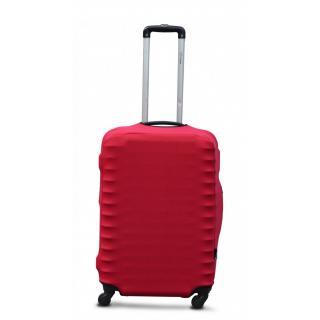 Чехол для чемоданов Coverbag M бордо 53-65см CvP0205M