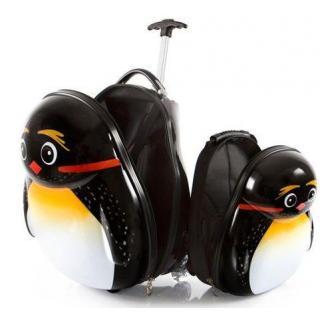 Чемодан детский Heys Travel Tots Emperor Penguin Набор + Рюкзак 13,8+3,4л He13030-3169-00