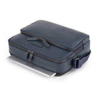 Мужская сумка через плечо Piquadro MODUS Restyling Тёмно-синяя CA5086MOS_BLU