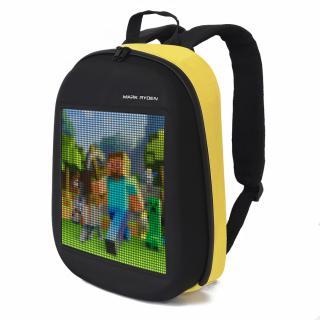 Рюкзак с LED экраном Mark Ryden Pixel Yellow MR9798_YL