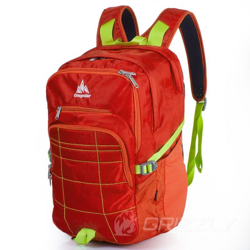 Городской рюкзак с отделением для ноутбука OnePolar W2188-orange ... 3f9134095ee