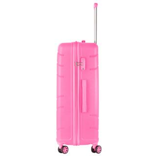 Чемодан TravelZ Big Bars (L) Pink