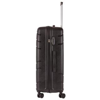 Чемодан TravelZ Big Bars (L) Black