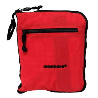 Сумка дорожная Members Holdall Ultra Lightweight Foldaway Small 39 Red