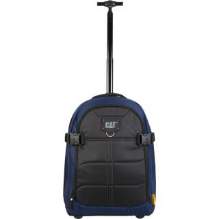 Дорожная сумка на колесах CAT Millennial Cargo черно-синяя 83427;352