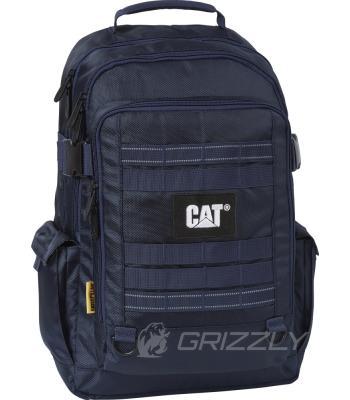 Рюкзак мужской CAT Combat Visiflash темно-синий 83393;230