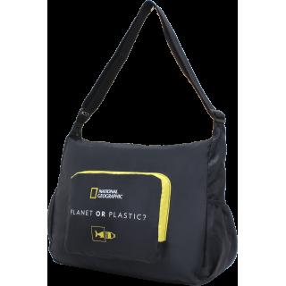 Женская сумка через плечо National Geographic Foldable N14401;06 Черная